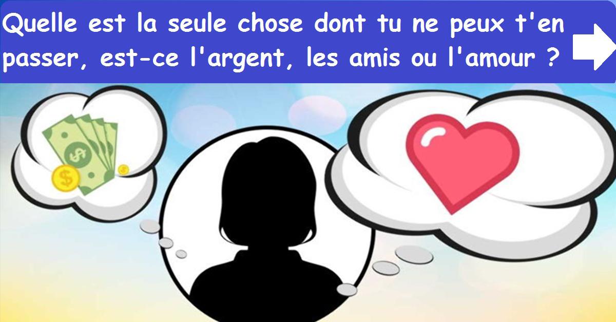 Argent Amis Amour