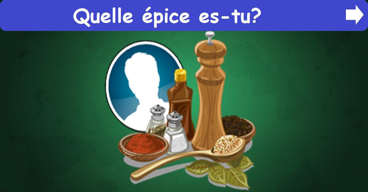 Quelle épice es-tu ?