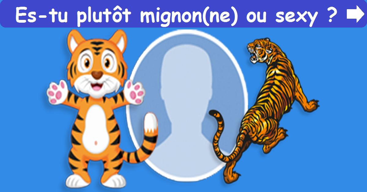 Sexy ou Mignon(ne)