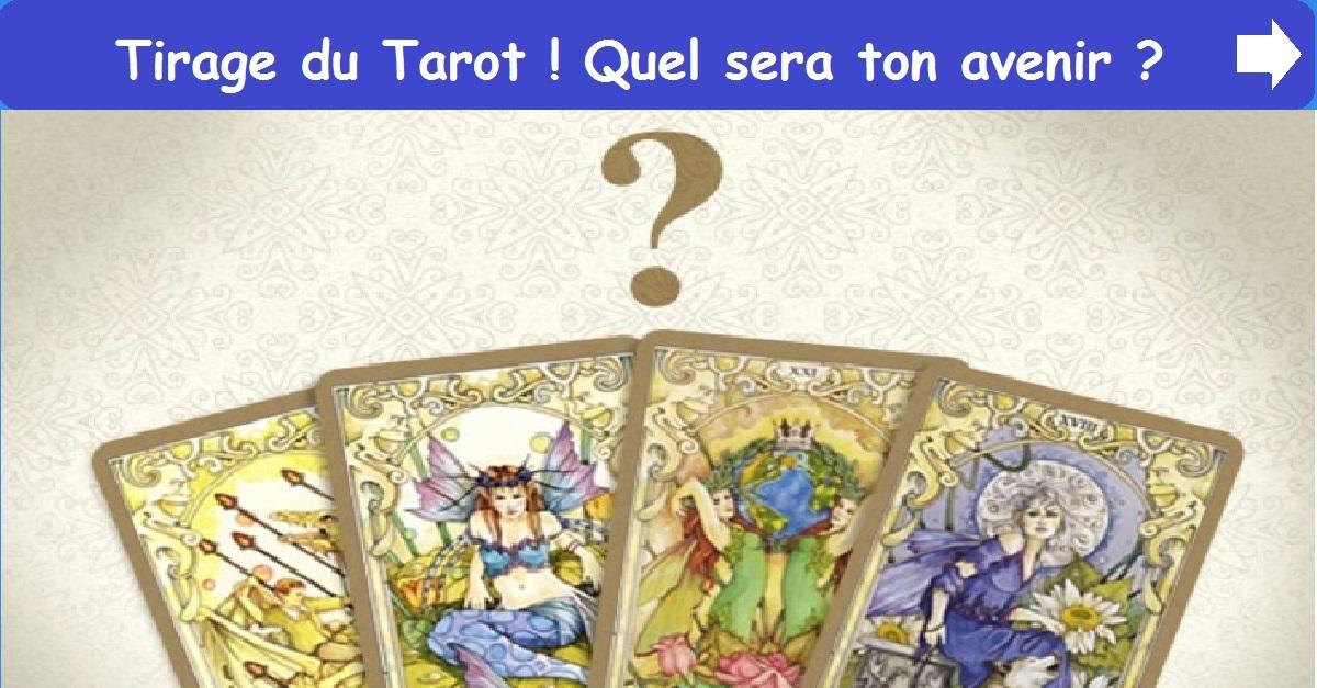 Tirage du Tarot