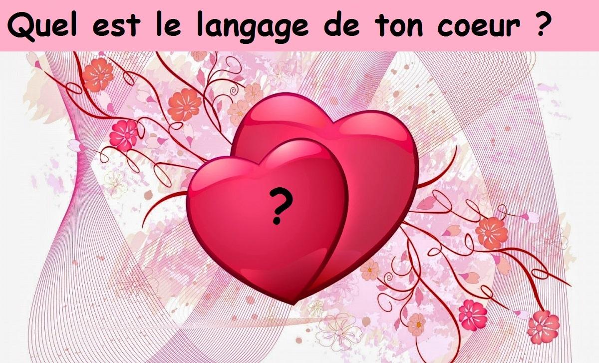 le langage de votre coeur