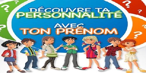 découvre ta personnalité